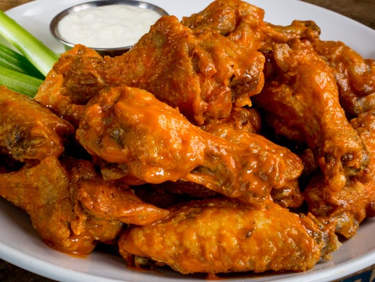 Buffalo wings served at Bokamper's in North Naples.