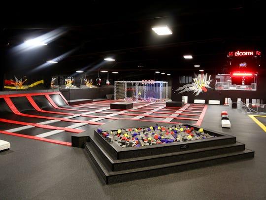An overview of a CircusTrix park.
