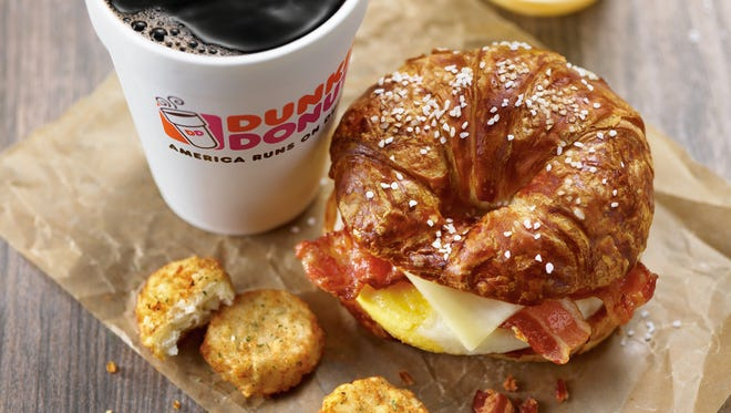 Dunkin' Donuts' new Pretzel Croissant sandwich may soon make this list.