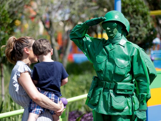 In this Saturday, June 23, 2018 photo, a Green Army