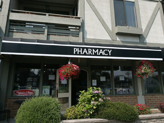 Bainbridge Island Community Pharmacy in Winslow on Tuesday, August 8, 2017.