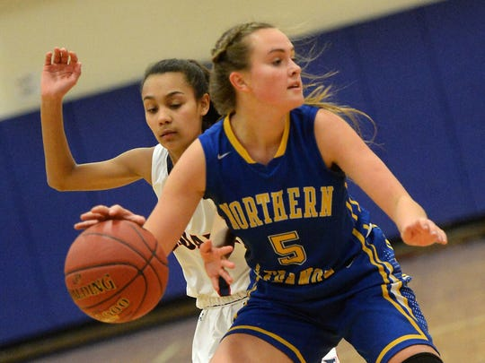 Northern Lebanon's Liz Voight has been the county's top girls player through the first month of the season.
