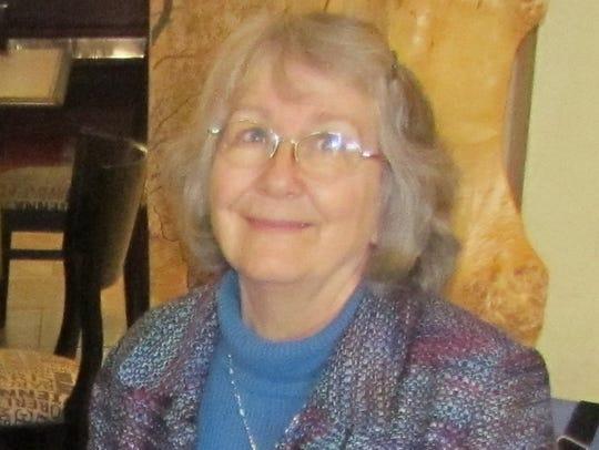 Santiam Historical Society President Diana Maul .