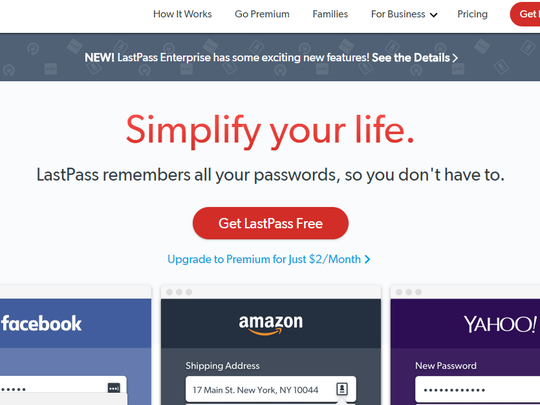 LastPass is my go-to password manager because it's