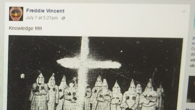 Post on Vincent's Facebook page.