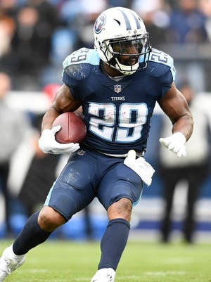Titans running back DeMarco Murray had a career-low 659 rushing yards last season.