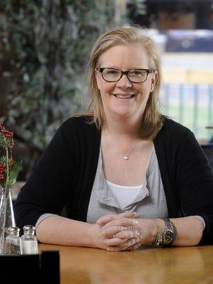 Kristina Kuehn talks about plating food at K Restaurant.
