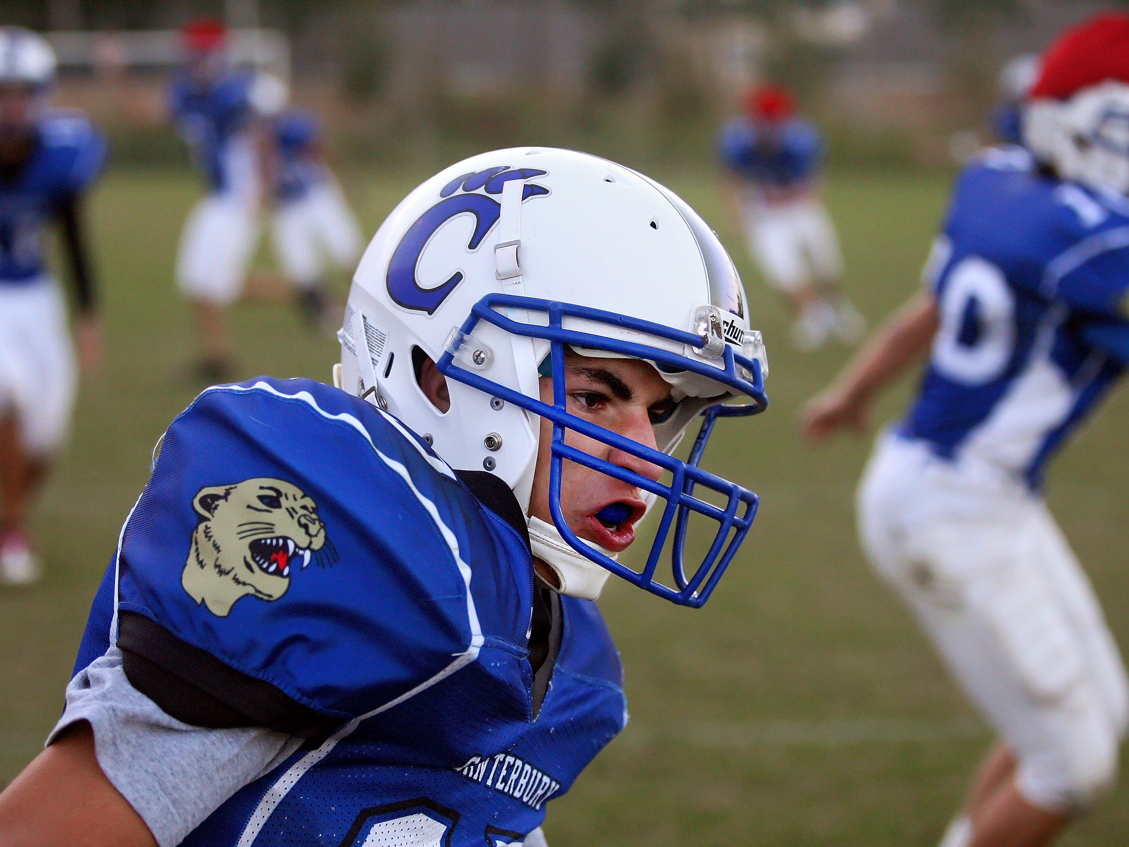 Canterbury is one of several schools moving on with a new head coach this season.