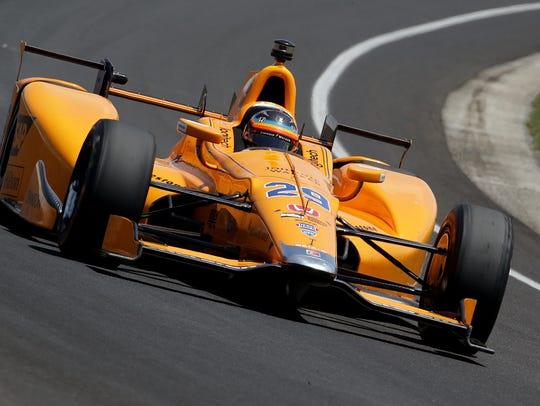 McLaren-Honda-Andretti IndyCar driver Fernando Alonso
