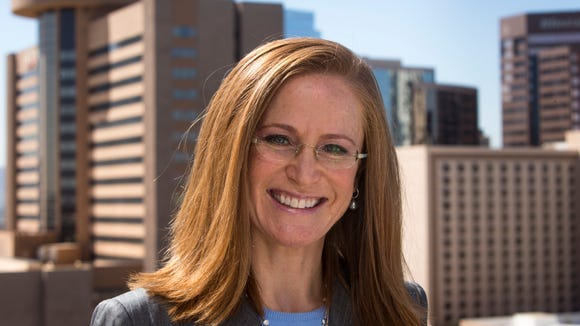 Republican gubernatorial candidate Christine Jones says the attack ad against her is misleading.