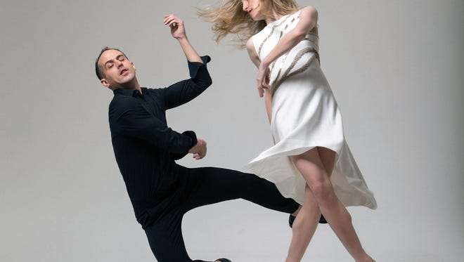 Choreographer Brian Brooks and Louisville native and dancer Wendy Whelan. They are working with Brooklyn Rider on a new dance program to tour the country.