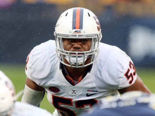 The Rams selected Virginia linebacker Micah Kiser in the fifth round of the NFL Draft on Saturday.