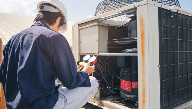 """It's not uncommon to hear a technician tell a homeowner their air conditioning unit needs a """"re-charge,"""" or more refrigerant."""