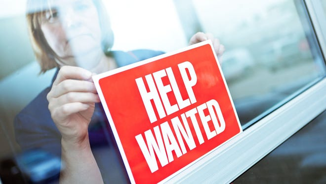 Some businesses are finding it harder to find qualified workers.