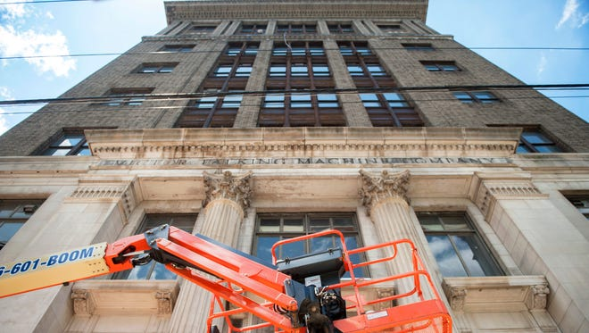 The historic Victor Talking MachineCo. building in Camden is currently undergoing renovations to convert the onetime world headquarters for a former industrial giant into modern office and retail space.