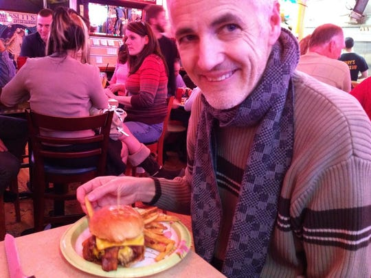 John struggled to eat after surgery. He felt sick all of the time. The first time he was hungry, he went to one of his favorite spots: Terry's Turf Club, with his wife.