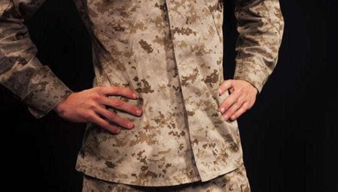 `The Marine Corps is considering whether to get rid of the desert MARPAT uniform as a minimum sea bag requirement.