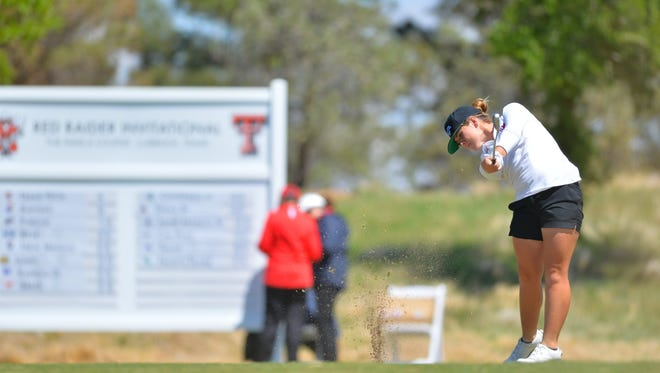 Former Oaks Christian golfer Brigitte Dunne was named to the American Athletic Conference golf team team for her strong play for SMU.