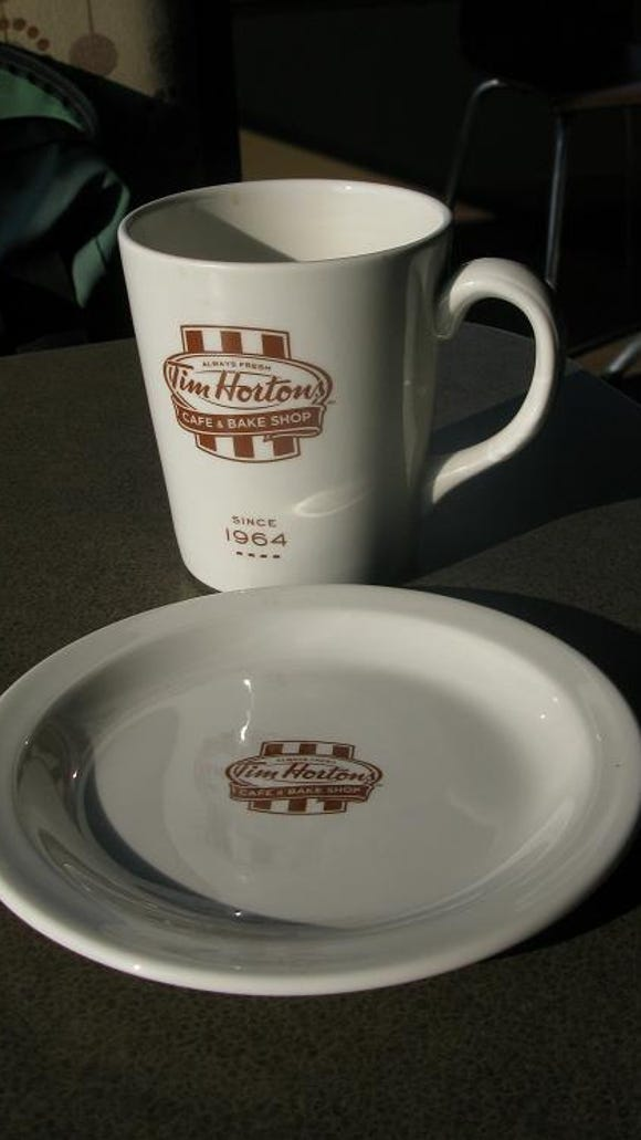 Tim Hortons is especially proud of their coffee blend and two consistently popular items: their apple fritter and their donut holes.