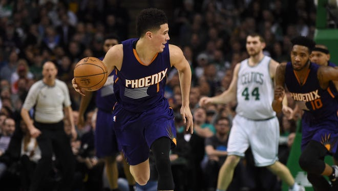 When the veil of tanking is lifted next season, Devin Booker and the scrappy Suns could find themselves facing enemies on a nightly basis.