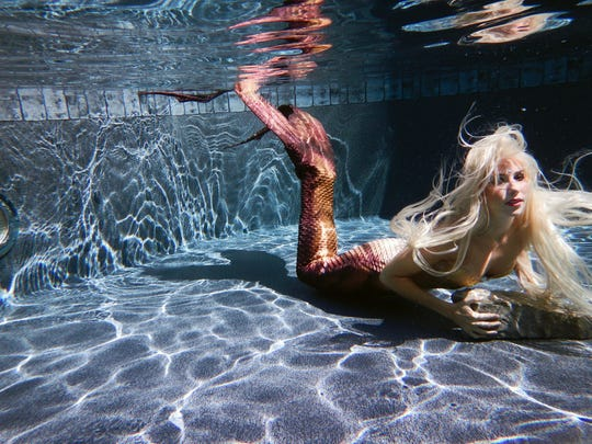 Portland mermaid Bonnie Lavender launched Music City Mermaid in 2012 to entertain, educate and conserve aquatic life.