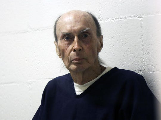 Don Nichols appears before the Montana Parole Board at the Montana State Prison in 2012 in Deer Lodge.