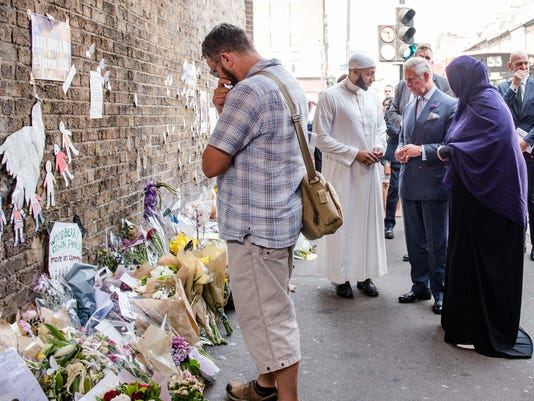 Prince Charles Visits Muslim Welfare House Finsbury Park