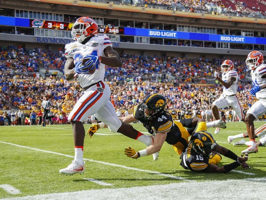 NCAA Football: Outback Bowl-Florida vs Iowa