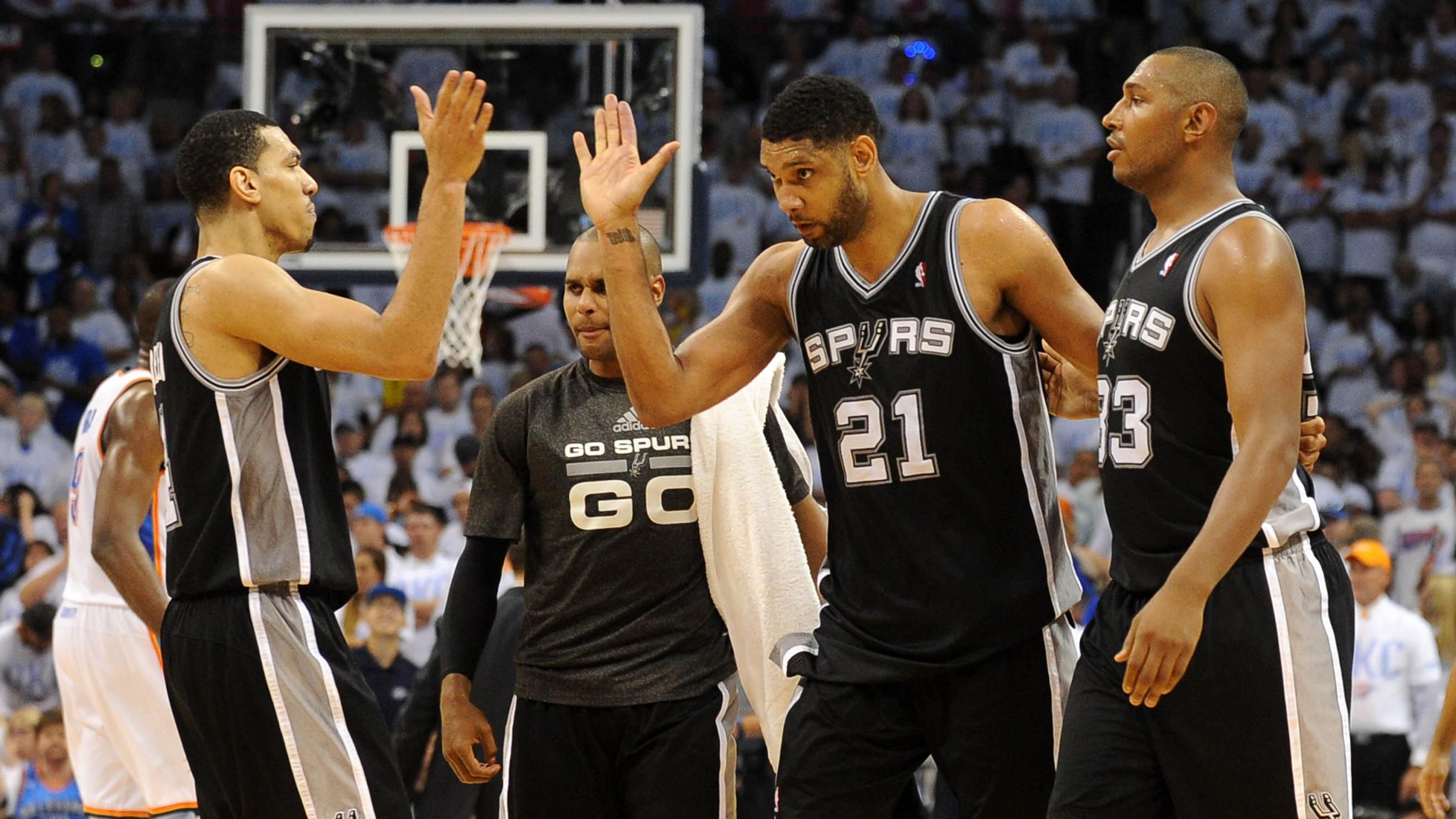 2014 NBA Western Conference finals: Spurs vs. Thunder