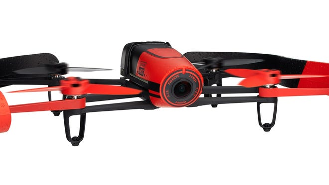 The colorful Bebop Drone from Parrot lets you take to the friendly skies.