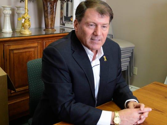 Former South Dakota governor and current Senate candidate