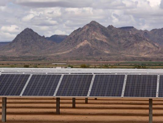 Solar plant opens in Buckeye