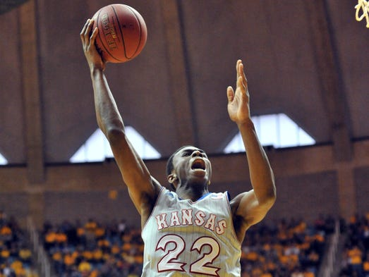 Wiggins scored a career-high 41 points in a loss against the West Virginia Mountaineers.