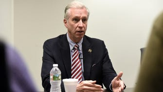 Assemblyman John Wisniewski, D-Middlesex, meets with The Record's editorial board regarding his candidacy for governor on Tuesday, May 23, 2017.