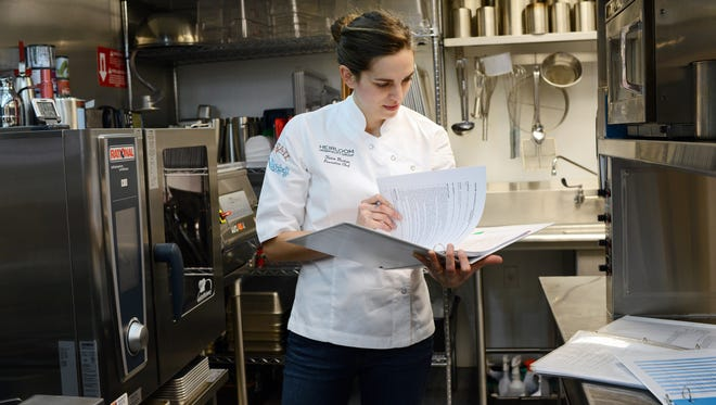 Katie Button, co-owner and chef of Cúrate, said Tuesday that Cúrate will expand into 13 Biltmore Ave.