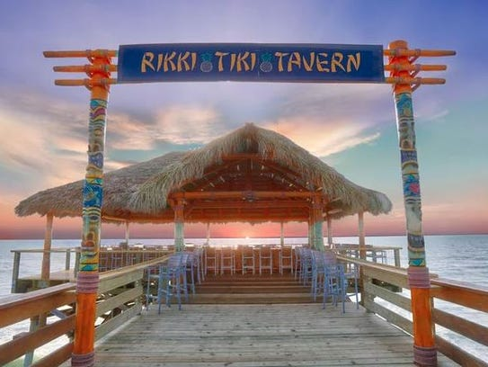 The Rikki Tiki Tavern in Cocoa Beach was named one