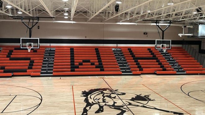 Southwest High School is very close to making its gym ready for practices and for games after it was damaged two years ago by Hurricane Florence.