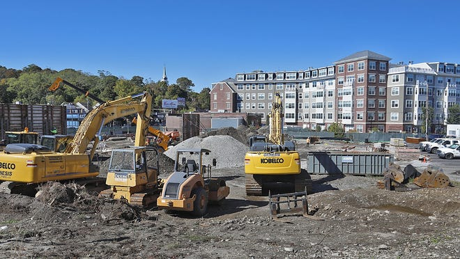 The Weymouth Landing development on Commercial Street.