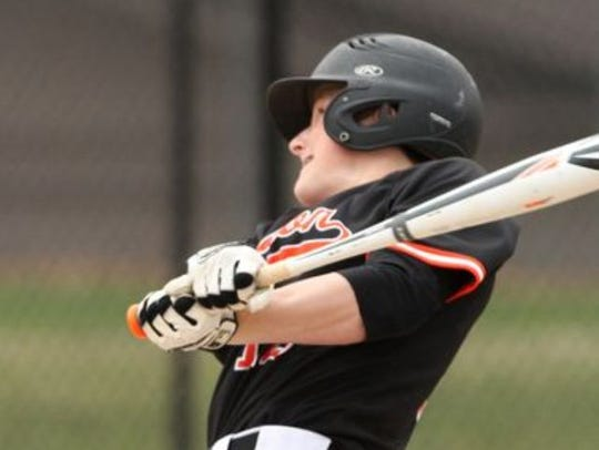 Brighton's Trevor Hopman drove in two runs in a come-from-behind
