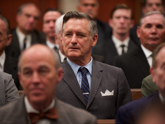 "Bill Pullman plays Sen. Ralph Yarborough in ""LBJ."""