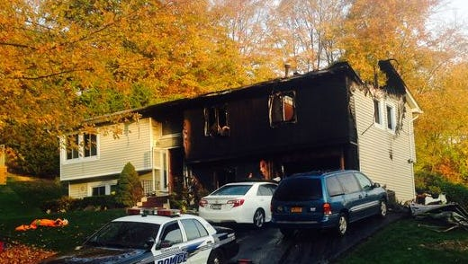 Luis Fernandez and his wife, Ruth, smelled gasoline and went into the garage of their 51 Hansen Ave., home late on Oct. 27, according to an investigation by Clarkstown police.