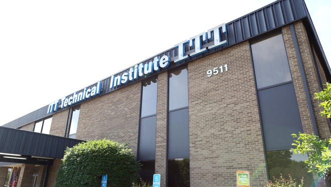 ITT Technical Institute's northwest-side location, 9511 Angola Court in Indianapolis.