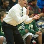 Trinity basketball coach Mike Szabo.