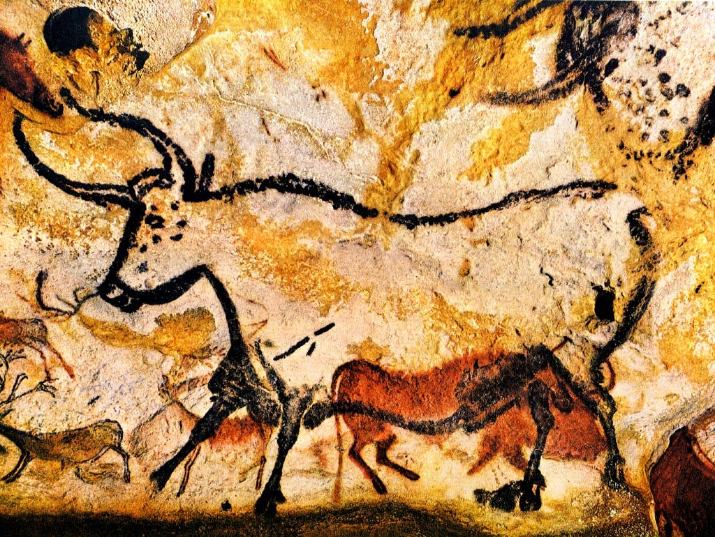 Famous paintings: prehistory 93