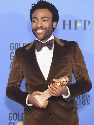 Donald Glover just went went two for two at the Golden Globes.