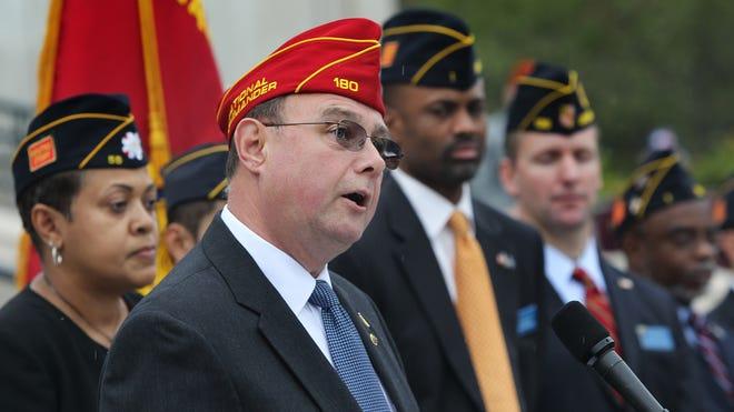 Daniel Dellinger, American Legion national commander.