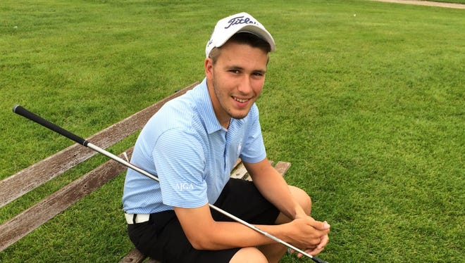 Winnebago Lutheran's Chris Colla is the Action Reporter Media All-Area Boys Golfer of the Year for the second straight season.