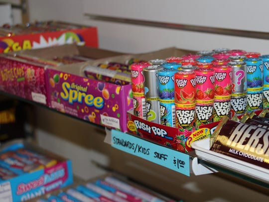 Sugar Rush specializes in old-fashioned candy.
