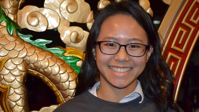 Michelle Hang has found happiness and competence in a world full of contrasts.