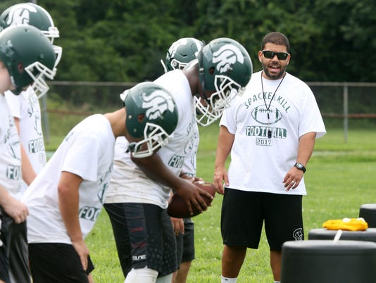 SPACKENKILL FOOTBALL PRACTICE